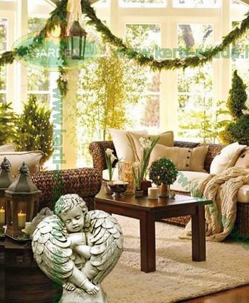 Karácsonyfa, angyal