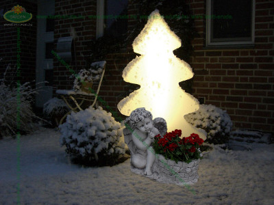 Havas karácsonyi angyal